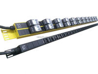 6 outlet french type rack pdu