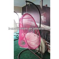 Patio swing of outdoor furniture sets/rattan swing chair hammock