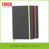 China Manufacturer High Quality PU Leather With Elastic Band Pocket Can Custom Logo Notebook