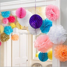 marriage room layout wedding scene background Decorations with honeycomb bal