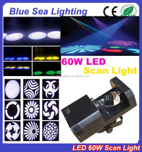 Disco bar night club 60w LED scanner
