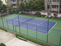 Soft Badminton Court Sports flooring materials