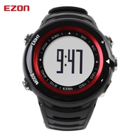 Best Price EZON T013C12 Pedometer Running Watches Smart Watch with Heart Rate Monitor Calorie Counter