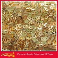 latest ACG high quality fashion lame con lentejuelas blackout roller fabric