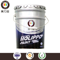Waterproof acrylic primer for construction machinery