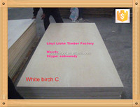 5mm thickness birch plywood panel