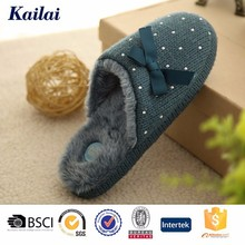2015 top quality bowknot mens mules bedroom kito slippers