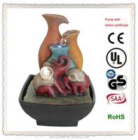 resin animal fountain elephant figurine