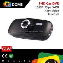 Full HD Car Camera G1W NTK96650 1080 30fps Night Vision G-sensor Motion Detection 4X Digital Zoom CE&ROHS 13 Months Warranty