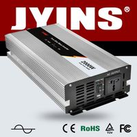 JYINS 2000w pure sine wave inverter DC 12V to AC 220V for solar power system solar panel charge