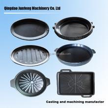 Customized cast iron enamel cookware