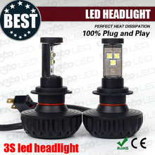 2015 best seller!! ce&rohs led lightings 12v plug and play fanless auto motorcycle headlights h4 bulbs assembly for all cars
