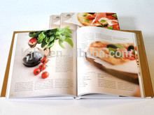 China offset CMYK full color cheap cooking book recipes printing