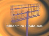 outdoor advertisement billboard steel structure