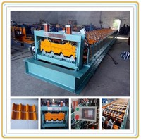 Galvanized Industrial IBR Roof Panel Roll Making Machinery/Roof Tile Roll Formign Equipment