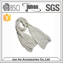 2014 Popular lady winter thick long knitted scarf