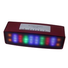 2015 Top Selling Professional Speaker LED Light, Bluetooth Digital Speaker CH-306 With USB and TF Card Slots