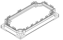 125A 1200V E3-Pack MKI100-12F8 IGBT Modules Transistor