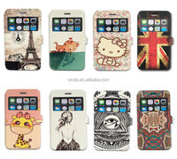 """Window View Wallet Leather Flip Case Cover Stand For Apple iPhone 6 Plus 5.5"""""""
