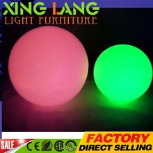 Manufacturers selling LED ball Can charge the battery remote control led decor