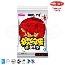 Spicy flavoured crisp healthy snack
