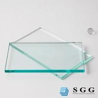 8mm thick low iron glass price , solar panel low iron tempered glass