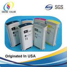 130ML for HP 72 compatible ink cartridge HP72 use for HP Designjet T610 T620 T770 T790 T1100 T1120 T1200 T1300 printer C9403A
