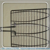 Easy cleaned barbecue grill mesh/ barbecue wire mesh(professional factory)