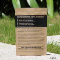 china supplier custom food die cut hole brown kraft paper bag