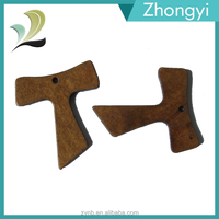 China Jewelry Wholesale Christian Items Wooden Tau Cross For Church