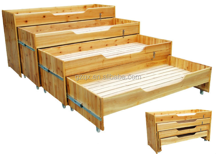Four Layer Wooden Kids Bed Toddler Bedroom Furniture Toddler Beds Qx 196f Buy Wooden Kids Bed