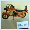 cheap promotional wooden motorcycle model for gift