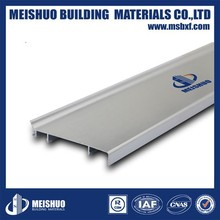 Chamfered Waterproof Aluminum skirting Board for wall Edge Decoration
