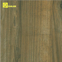 hot sale vitrified wooden look porcelain shaw tile