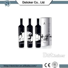 Impreso de papel personalizados etiquetas de vino