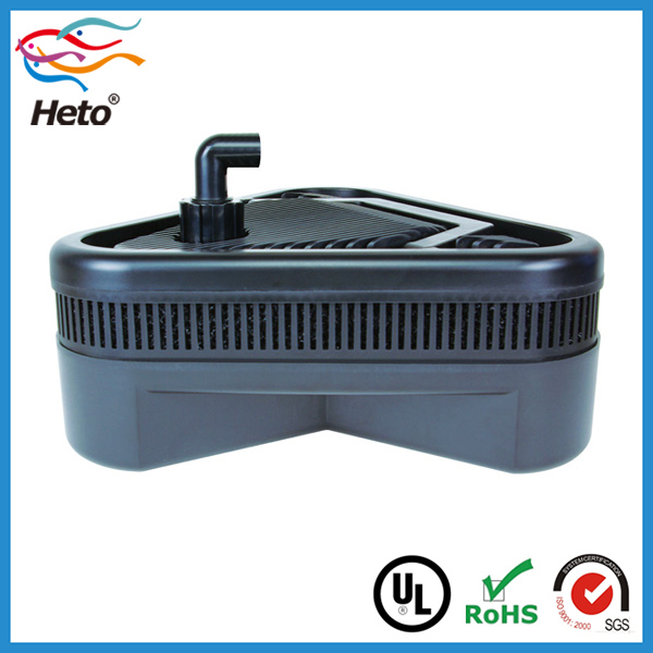 Customized diy aquarium koi fish pond filter with water for In line pond filter