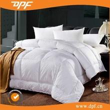 Luxury 60% white duck down satin comforter