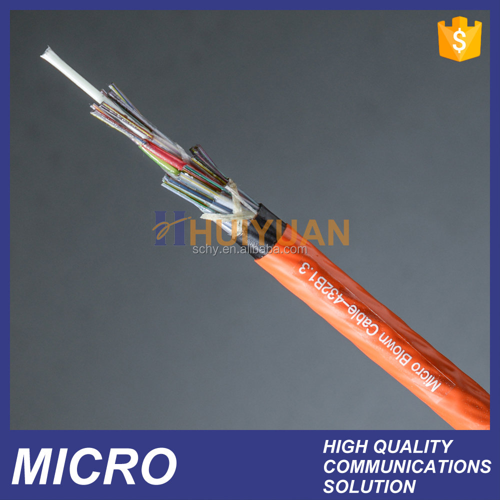 cable de fibra optica micro blown cable single mode 576