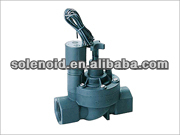Electric plastic irrigation 3/4 inch air release solenoid valve
