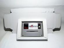 ENTERTAINMENT SYSTEM SNES N64 INLAY Cardboard Box