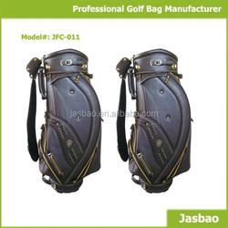 Custom Leather Golf Cart Bags Factory