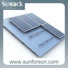 High quality flexible low price 50kw solar panel support structures