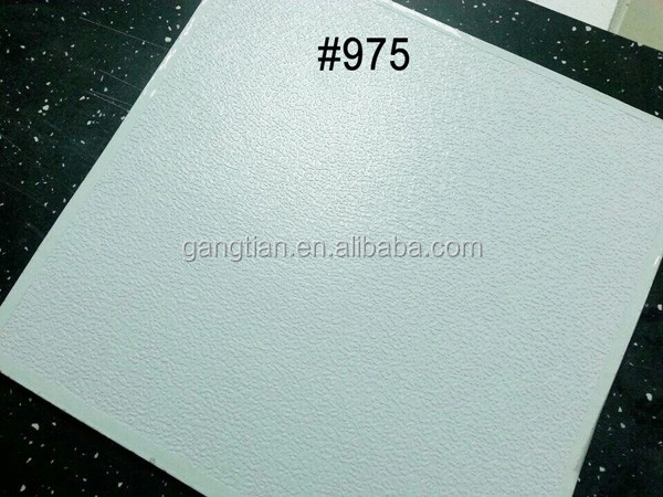 Pvc Gypsum Board Back With Aluminum Foil Ceiling Buy