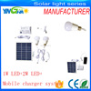 Long Working Time solar light kits With Phone Charger