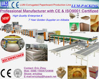 Carton machine 5 ply corrugated cardboard production line,single facer line,packaging machine CE & ISO9001