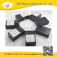 Retail loss prevention recoilers for mobile phone display telephone pull box