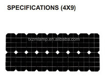2015 China factory high efficiency IP65 solar panel
