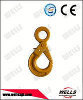 wholesale high security g80 baking black zinc plated special eye screw