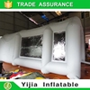 Inflatable spray booth with 750W paint booth fan