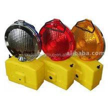 Led road construction solar led traffic warning light